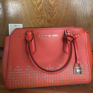 MK medium messenger leather